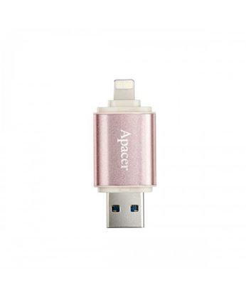 تصویر فلش مموری Apacer 190 OTG Iphone USB3 64 GB